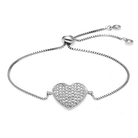 Kelvin Gems Luna Adore Adjustable Chain Bracelet