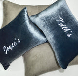 Personalised Pillow Suede with Symbol (Est. 12-14 working days)