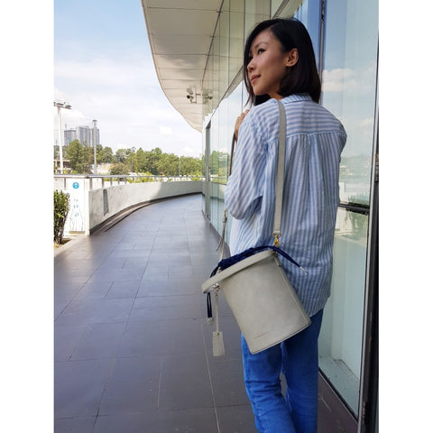Big Chubby Bucket Bag (Grey)