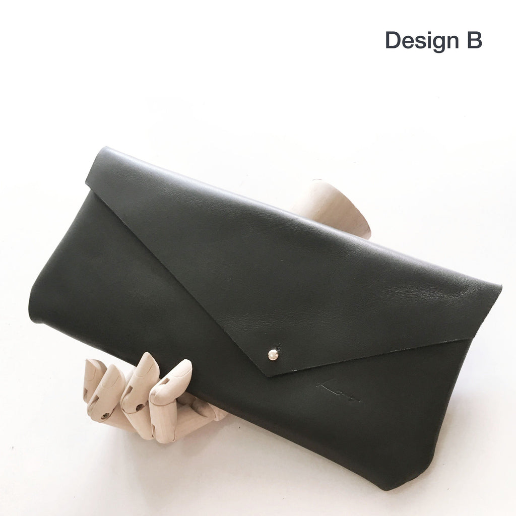 Mini Clutch @Beauty in Flaw - Black