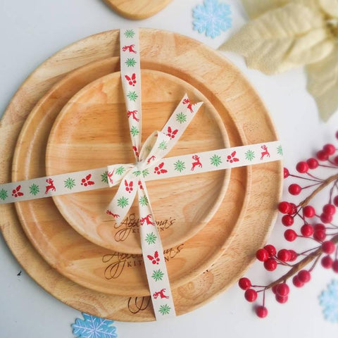 *Christmas 2020* Personalized Wooden Plate Set