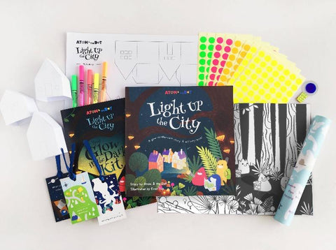 Light Up The City Story & Activity Book