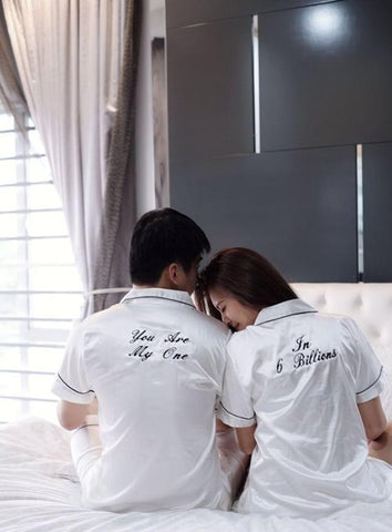 Personalised Couple Sleepwear (Set of 2) (Est. 12-14 working days)