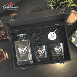 Personalized Whiskey Decanter Set (Design 10)
