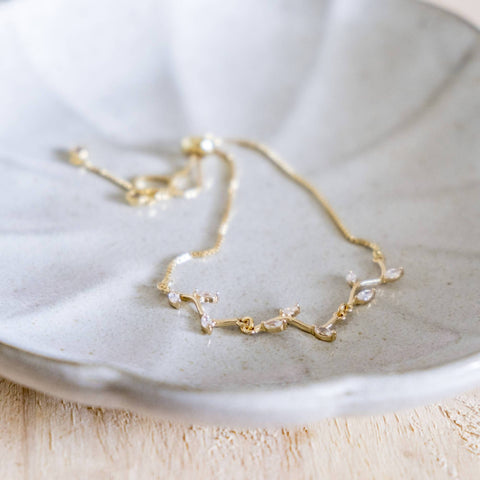 Effulgent Handmade Gold Bracelet #1 Leaf (Mother's day 2020)