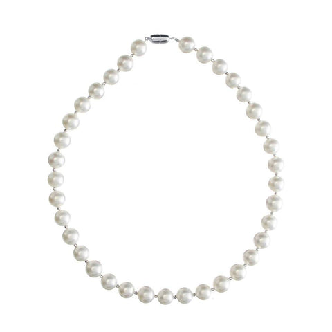 Angie Jewels Dazzlin Shell Pearl Necklace 8mm