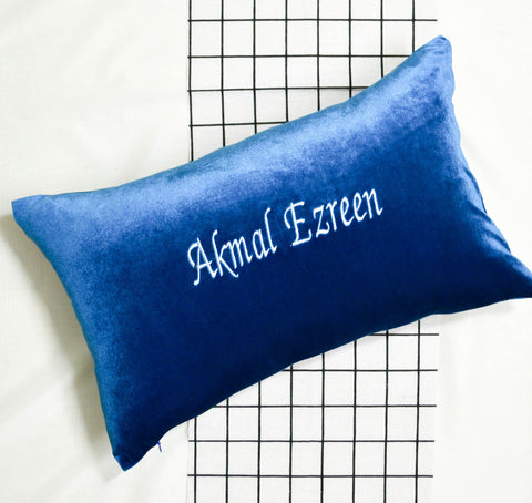 Personalised Velvet Pillow