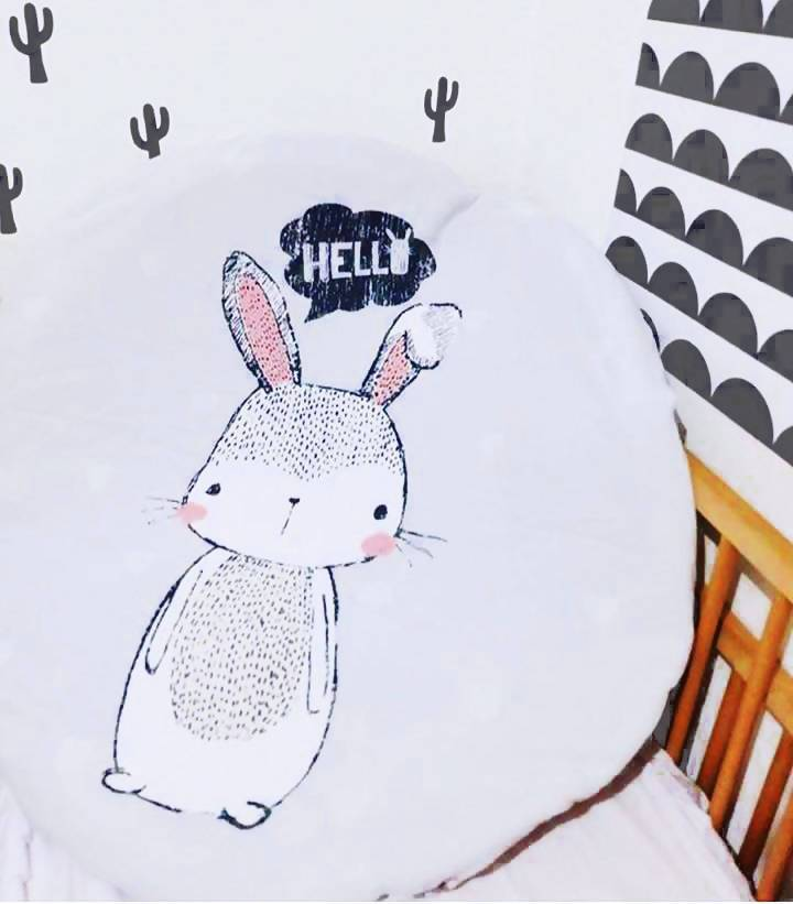 Bunny Round Playmat (Nationwide Delivery)