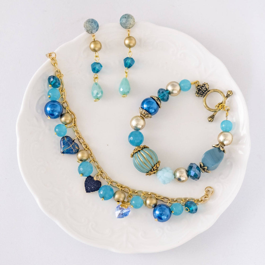 Aladdin Movie Inspired Set 3 (Earring and Bracelet)(4-10 working days)