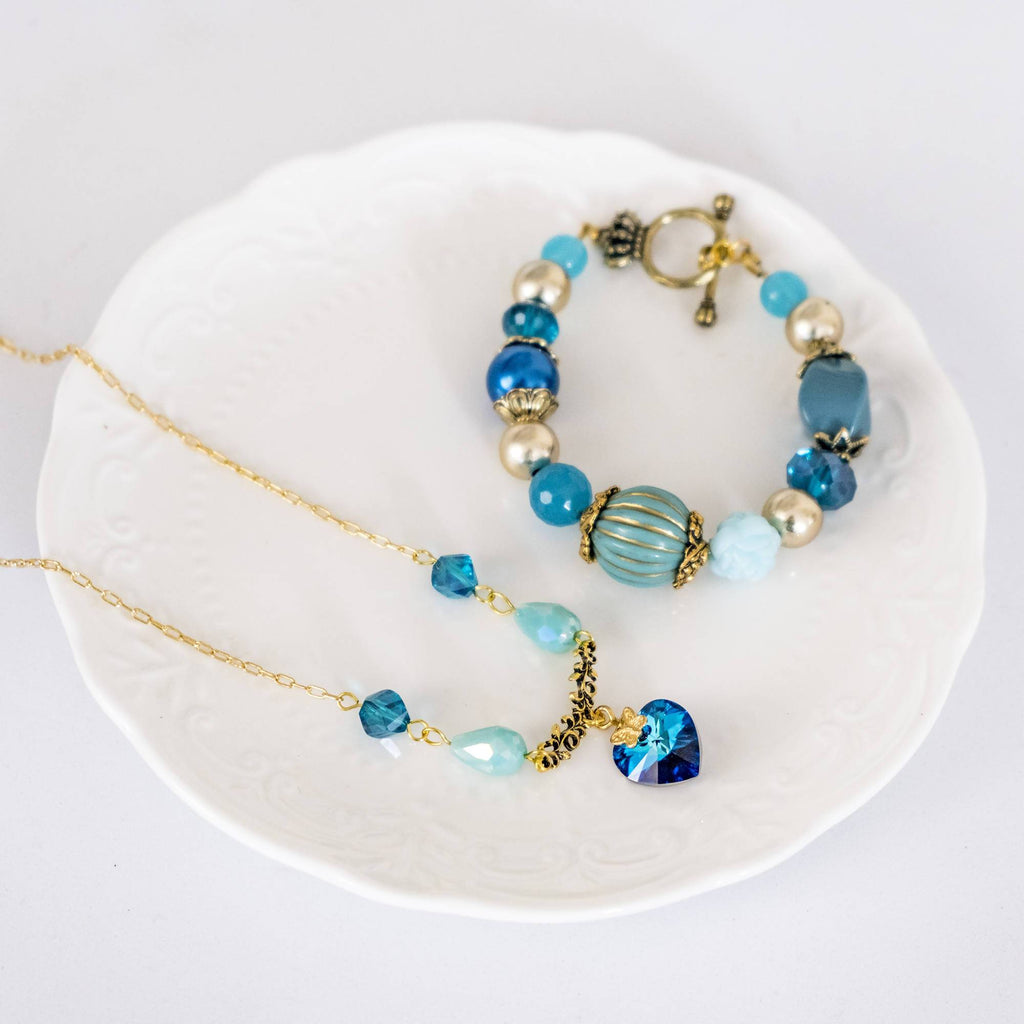 Aladdin Movie Inspired Set 1 (Bracelet and Necklace) (4 -10 working days)