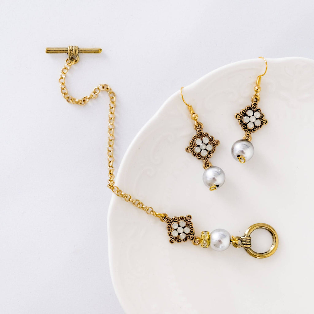 Fabulous Set #1 (Earring and Bracelet) (4-10 working days)