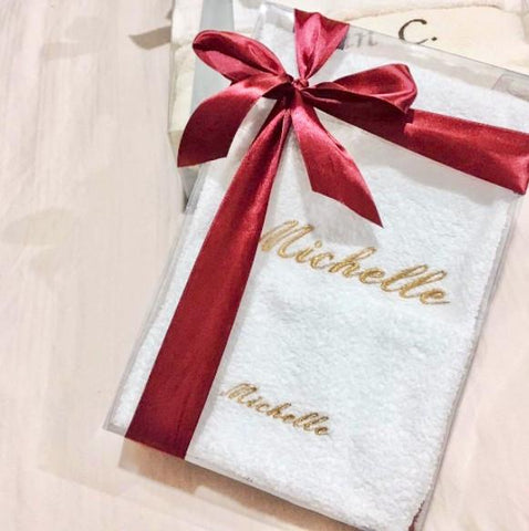Personalised Bath & Gym Towels