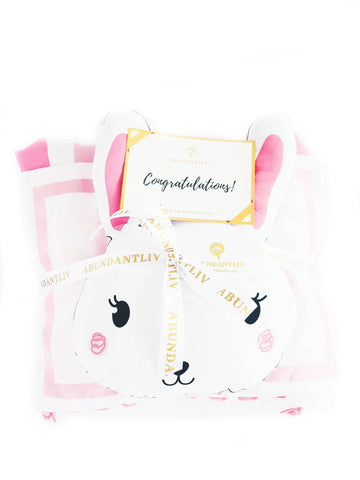 BED COVER SET - BUNNY (Nationwide Delivery)