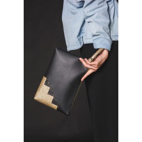 Twinkly Clutch (Black)