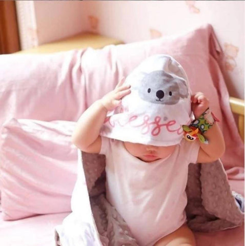 Personalized Koala Blanket Set (Nationwide Delivery)