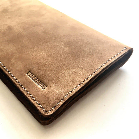 Genuine Leather Cheque Book Holder