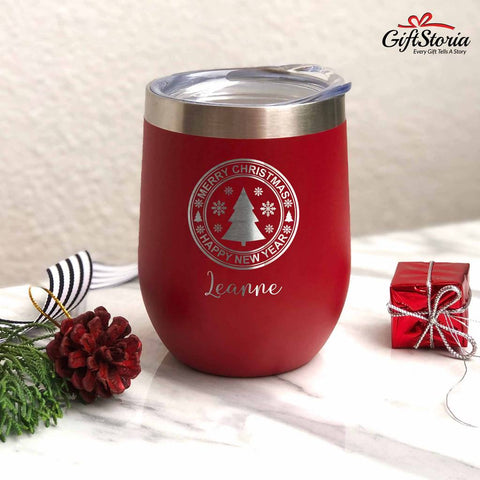 Christmas Gift - Insulated Tumbler (Christmas Tree)