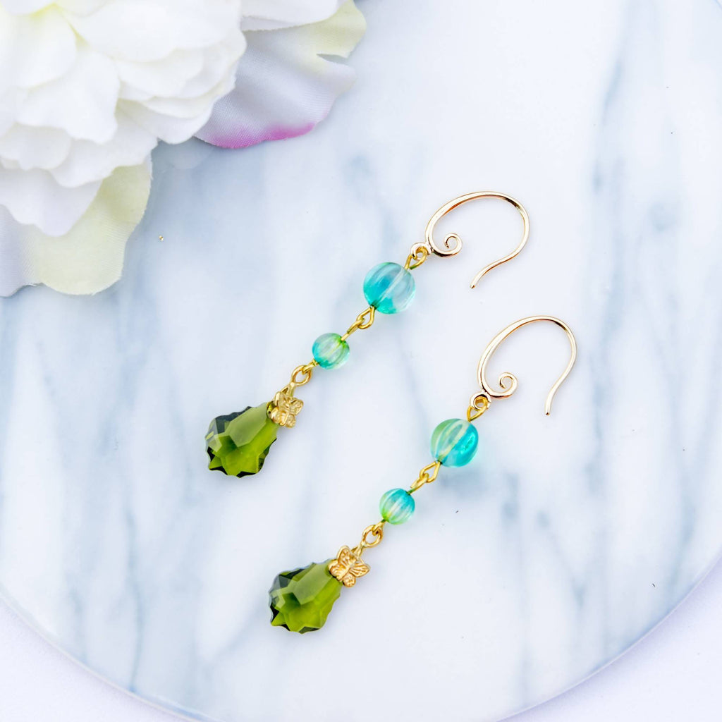 Glamour Olivine Earring (4-10 working days)
