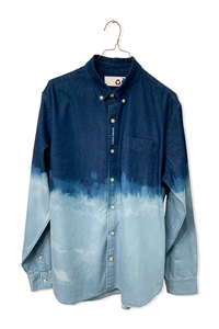 DENIM BUTTON-DOWN<br>(1/1)