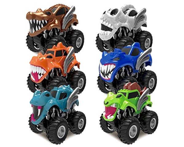 Joyin Toy 6 Pack Monster Truck Vehicles