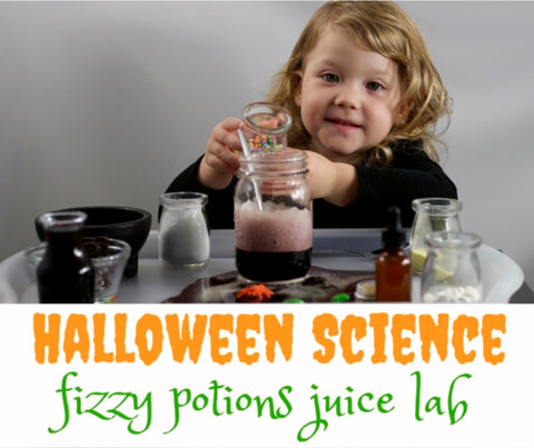 Trisha at Inspiration Laboratories Halloween Science
