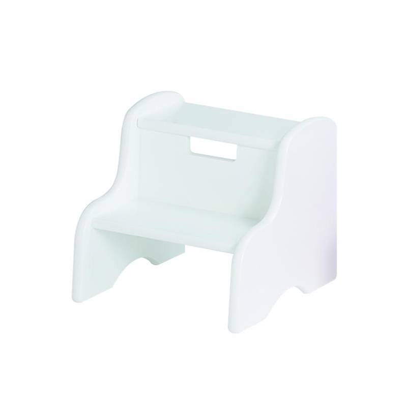 Step Stool | White | Step Stools | Little Colorado Toddler Furniture