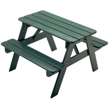 Picnic Table | Green | Adirondack Furniture | Little Colorado Toddler Furniture