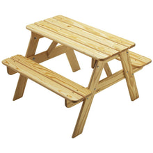 Picnic Table | Natural | Adirondack Furniture | Little Colorado Toddler Furniture