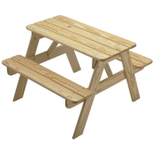 Picnic Table | Unfinsihed | Adirondack Furniture | Little Colorado Toddler Furniture