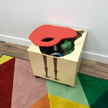 Bertie Toy Box | ModMom | Wooden Toy Boxes | Little Colorado Toddler Furniture