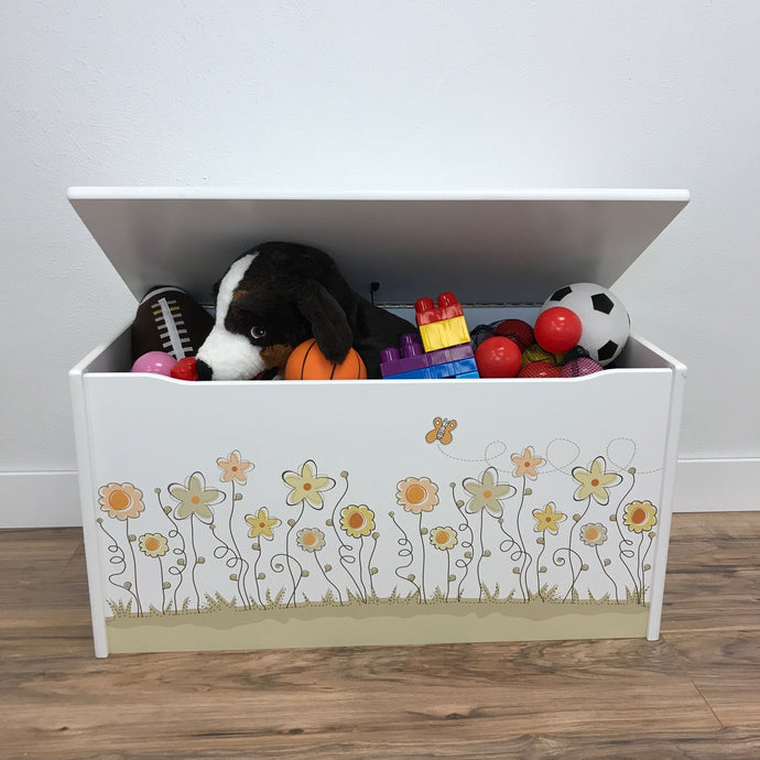 Little Prints: Field of Flowers Toy Storage Box
