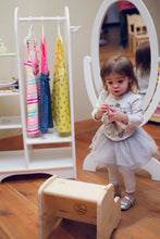 Cheval Mirror | White | Dress Up | Little Colorado Toddler Furniture