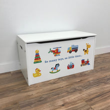 "Little Prints: ""So Many Toys"" Toy Storage Box"
