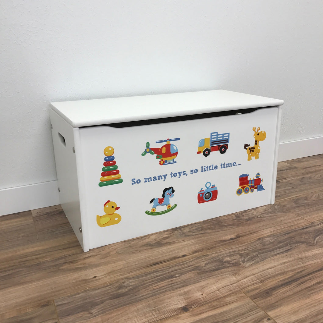 Little Prints  So Many Toys  Toy Storage Box ... & Little Prints: