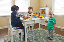 Arts & Crafts Table | White | Kid Tables | Little Colorado Toddler Furniture