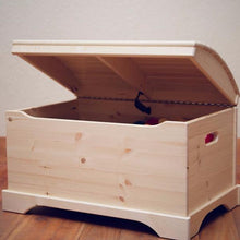 Captain's Chest | Unfinished | Wooden Toy Boxes | Little Colorado Toddler Furniture