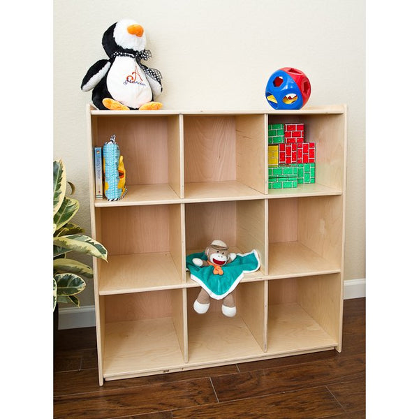 Storage Cubby | Natural | Waldorf Organization | Little Colorado Toddler Furniture