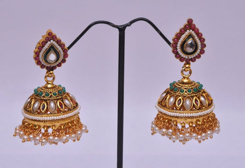 Jhumka Earrings from India