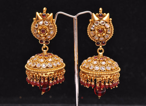 Indian Bombay Jhumka Earrings