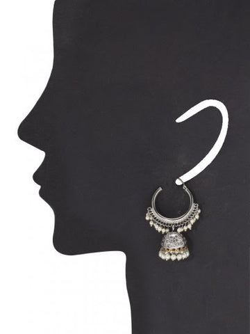 Small Light Weight Jhumka Earrings