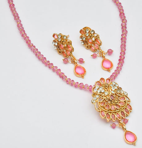 Playful Pink Necklace Set
