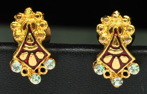 Traditional Indian Studded Earrings