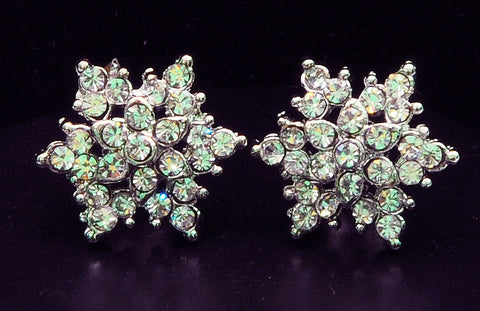Studded Diamond Earrings