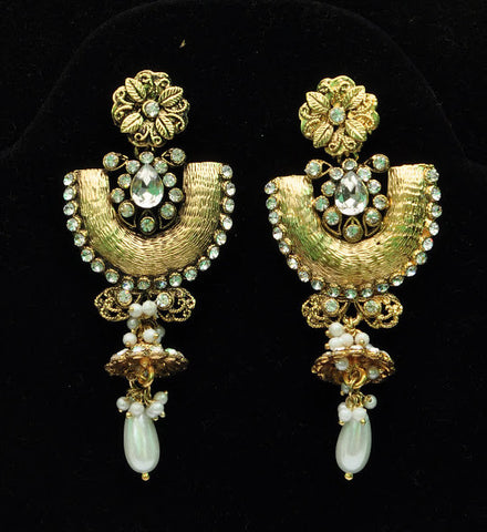 Fancy Gold Jhumka Earrings