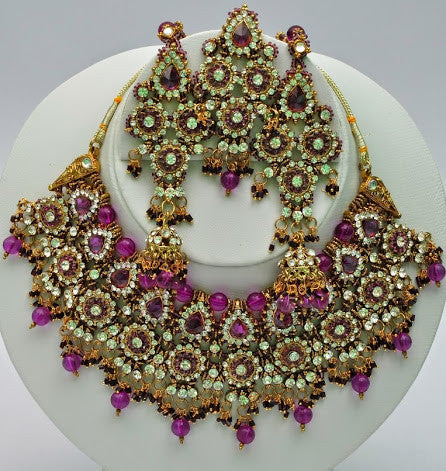 Royal Purple Necklace Set
