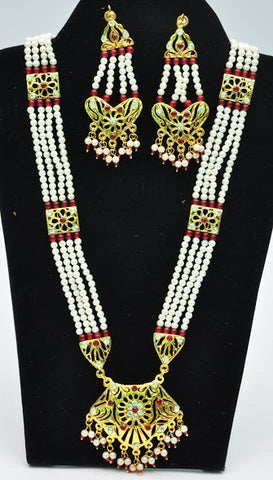 Ethnic Beaded Necklace