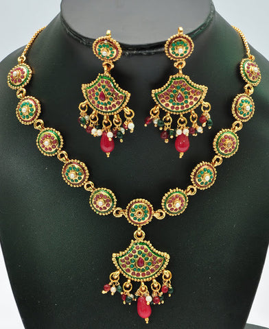 Playful Indian Necklace