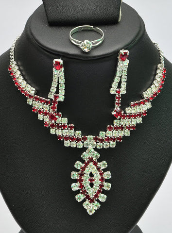 Multi Layers Indian Necklace Set