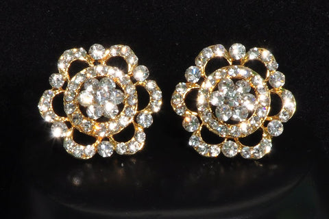 Luxurious Diamond Stud Earrings