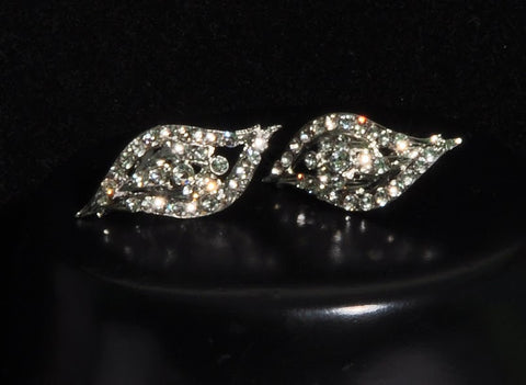 Full Diamond Stud Earrings